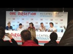 One Direction press conference Colombia (FULL) Here is the video if you missed it!!