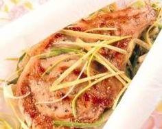 Saumon aux légumes en papillotes Foil Packets, 20 Min, Japchae, Spaghetti, Turkey, Yummy Food, Beef, Fish, Healthy
