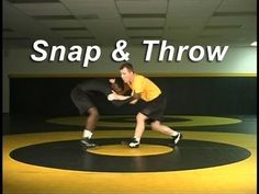 Collar Tie Snap To Arm Throw  Wrestling Techniques Moves Instru... Wrestling Workout, Wrestling Quotes, Wrestling Mom, Wrestling Videos, Mixed Wrestling, College Wrestling, Fight Techniques, Self Defense Techniques, Baseball Training