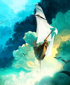 """On a day when the wind is perfect, the sail just needs to open and the world is full of beauty. Today is such a day."" —Rumi ..*"