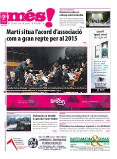 Més Andorra (2005 -) Andorra Newspaper Cover, Andorra, Free