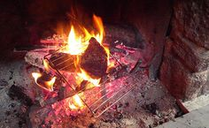 HOW TO COOK STEAK IN YOUR FIREPLACE                                                                            By Josh Ozersky