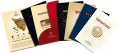 Marchesi de' Frescobaldi - Cartellina e 6 brochure per I Cru di Frescobaldi. Realizzazione: Agenzia Verde