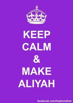 Great sign by @HaDassah Milner! - Love this! #israelcenter #vosjcc