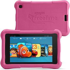 "Fire HD 6 Kids Edition, 6"" HD Display, Wi-Fi, 8 GB, Pink Kid-Proof Case Amazon http://www.amazon.com/dp/B00LOR4928/ref=cm_sw_r_pi_dp_mn3swb12C5000"