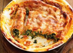 Cannelloni butternut kale ricotta