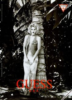 Drew Barrymore for Guess Jeans