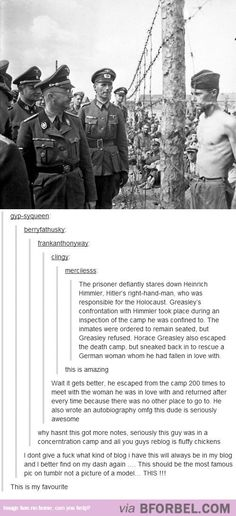 This Amazing Guy Stood Up To The Nazi's…
