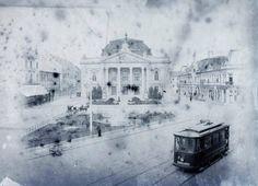 El teatro Szigligeti en la plaza Brémer (1910)