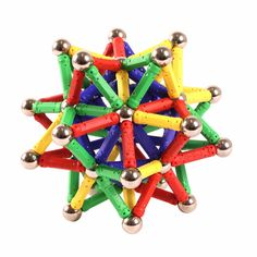 84pcs DIY Magnetic Toys Magnetic Chip Assembly Building Blocks Toy Bricks For Kids Model Building Kits Gifts