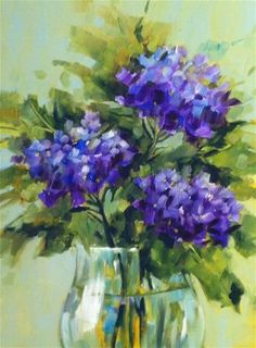 """Daily Paintworks - """"Crystal Clear"""" by Libby Anderson"""