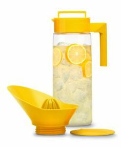 This Juicer Pitcher is perfect for Fruit Infused Citrus drinks