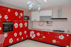 F Shaped Modular Kitchen Designer in Kanpur - Call Kanpur Kitchens for your F Shaped Kitchen Renovation Ideas & consultation in Kanpur, we will help you to create the Kitchen of your dreams.