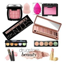 A beauty collage from April 2017 featuring urban decay eye shadow, Charlotte Russe and powder blush. Browse and shop related looks. Too Faced Cosmetics, Nars Cosmetics, Nyx, Maybelline, Dupes, Urban Decay, Charlotte Russe, Make Up, Paris