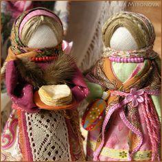 Tradycyjne Lalki ręcznie.  Pancake-Yasochka.  Olga Mironova.  Fair Masters.  Urok, naleśniki, bawełna