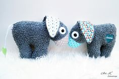 Süße Esel als besonders treuer Freund, individueller Namenszug in Wunschfarbe / fluffy donkey for kids with individual name in colour of choice made by Art.K via DaWanda.com