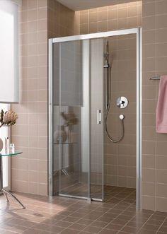 Drzwi prysznicowe 100 cm Kermi Atea ATD2R/L10018VAK wyposażenie łazienek www.kaczucha.pl