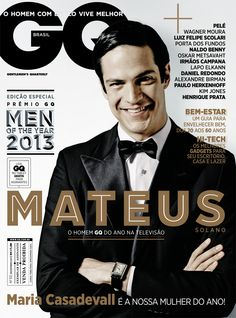 Mateus Solano: o destaque da TV no GQ Men of the Year 2013 - DEZEMBRO 2013