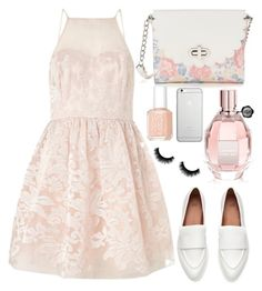 """""""Sweet For Summer"""" by designbecky ❤ liked on Polyvore featuring Lipsy, Candie's, Native Union, Essie and Viktor & Rolf"""
