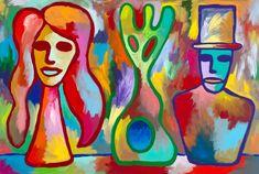 Zakladatel Stuckismu Charles Thomson v Praze osobně zahájí svou výstavu Food And Drink, Painting, Tiramisu, Design, Health, Art, Recipes, Diet, Art Background