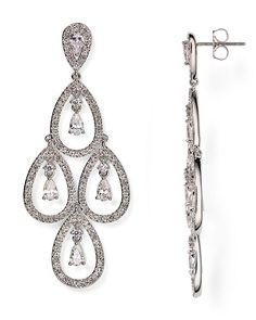 125.00$  Watch now - http://viauk.justgood.pw/vig/item.php?t=yhlblgq48373 - Nadri Kite Chandelier Earrings 125.00$
