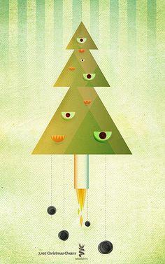 Christmas Spirit Illustrations