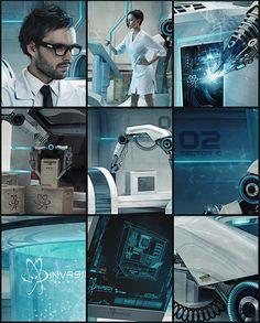 Invasion Laboratories on Behance