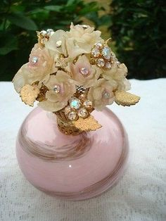Antique Jeweled Perfume Bottle