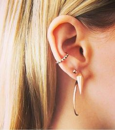 Trying to get dad to let me get this conch piercing