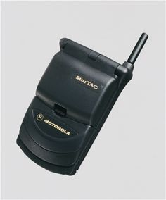 Motorola StarTAC... My first cell phone! Lol