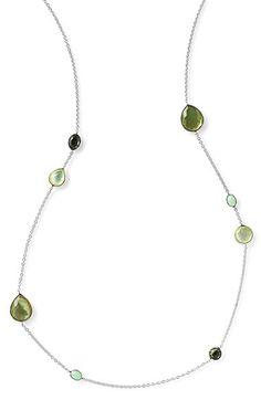 Ippolita 'Wonderland' Mixed Stone Station Necklace