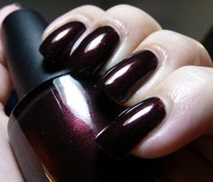 Nail Narcissism: OPI Midnight In Moscow