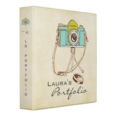 Photography Photo Portfolio Personalized Binder by Pip_Gerard
