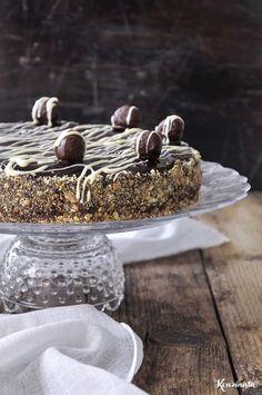 Greek Desserts, Greek Recipes, Death By Chocolate, Chocolate Ganache, Fridge Cake, Nutella Cake, Sweet Lord, Cake Pops, Sweet Tooth