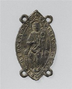 Enseigne de p 232 lerinage de notre dame de rocamadour vers 1275 1325