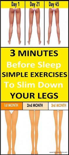 3 Minutes Before Sleep: Simple Exercises To Slim Down Your Legs - fitness. Health And Fitness Articles, Fitness Tips, Health And Wellness, Health Fitness, Wellness Tips, Health Care, Fitness Plan, Women's Health, Health Benefits