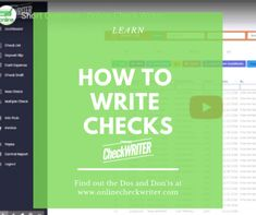 How to write a check, Step by Step, easy and important everyone should know. After write a check keep a record of it preferable with an online check writer Buy Instagram Views, Writing Software, Write Online, Dslr Photography Tips, Accounting Information, Business Checks, Online Checks, Letter Size Paper, Check Printing