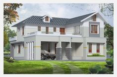 Exterior design ideas for small house exterior house design styles home interior ideas exterior small house design ideas pictures Metal Building House Plans, Small House Floor Plans, Bungalow House Plans, Modern House Plans, Small House Exteriors, Dream House Exterior, Home Styles Exterior, Exterior Design, Small House Design