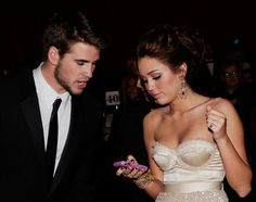 OH MY GOD. Would these two not make the cutest babies ever?! Miley Cyrus and Liam Hemsworth.