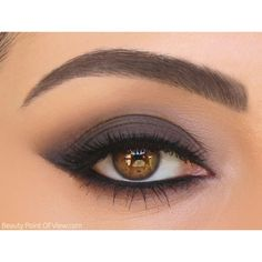 Smokey Line Eye Makeup Tutorial ❤ liked on Polyvore featuring beauty products, makeup, eye makeup and matte makeup