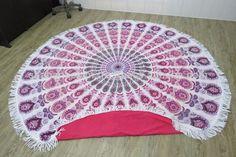 Source Round Beach Towel Mandala Picnic throw on m.alibaba.com