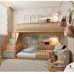 Cute Bedroom Decor, Cute Bedroom Ideas, Stylish Bedroom, Room Ideas Bedroom, Small Room Bedroom, Awesome Bedrooms, Kids Bedroom Designs, Room Design Bedroom, Home Room Design