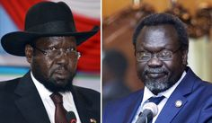 South Sudan's President Salva Kiir and arch-rival Riek Machar, his sacked vice-president, have spent the past 20 months locked in combat. Civil war erupted in December 2013 after Kiir accused troops loyal to Machar of staging a failed coup. Both are former rebel leaders who rose to power during Sudan's 1983-2005 civil war between north and south, after which South Sudan seceded in 2011 to form the world's youngest country.