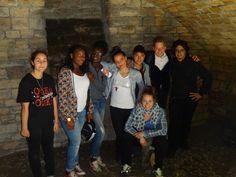 Groupe du projet jeune en partenariat avec Mont Saint Martin. Monéra, Tombé, Dickel, Rosa Alexandra, Jérémy, Florent et leur animatrice Alexandra. www.fondationsolangebertrand.org