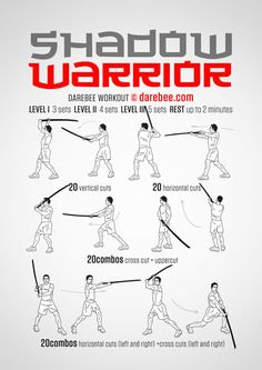 Shadow Warrior Workout Yoga Fitness - http://amzn.to/2hmQneS