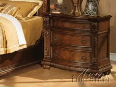 Anondale Cherry Nightstand 10313 By Acme  furniture