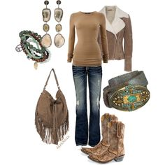 Everything but the cowboy boots..