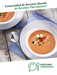 Gazpacho by Thermomix®. The Thermomix® recipe is in the category . Cantaloupe, Fruit, Recipes, Queso, Food, Cooking Recipes, Kitchens, Salads, Food Processor