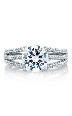 Shop A. Jaffe MES300-48 Engagement rings   Bailey Banks & Biddle