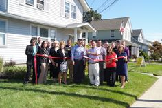 Weichert Realtors - Performance Homes Grand Re-Opening and Ribbon Cutting with Farmingdale Chamber of Commerce. Photo credit: Bill Moseley/BBA Photography Corp.